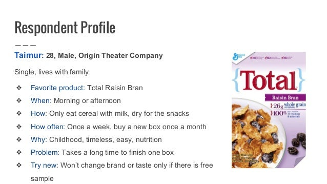 General mills reveal consumer insights cereal a lot 19 ccuart Image collections