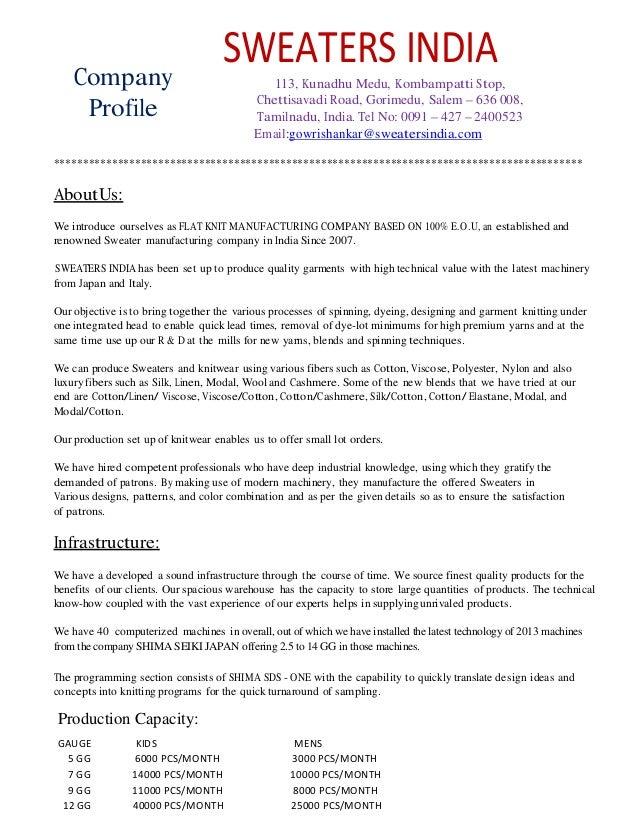 Company Profile 113, Kunadhu Medu, Kombampatti Stop, Chettisavadi Road,  Gorimedu, Salem