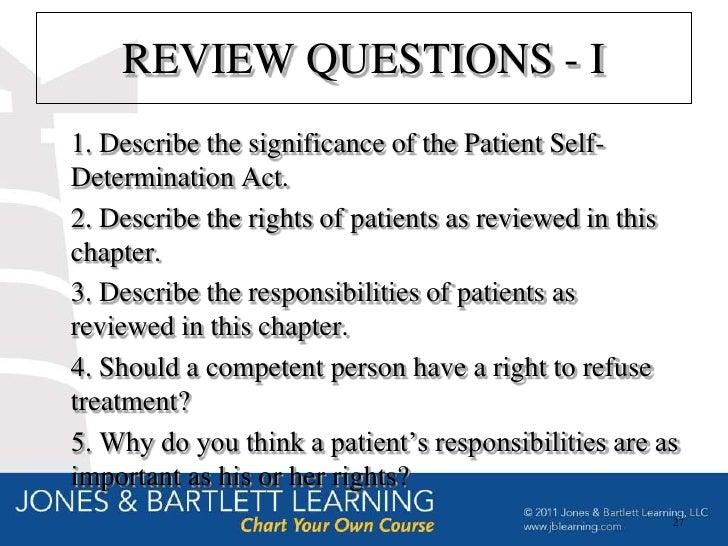 records management procedures on patient self determination act Equipment management – patient  information and records management,  exposure determination form tasks and procedures record.