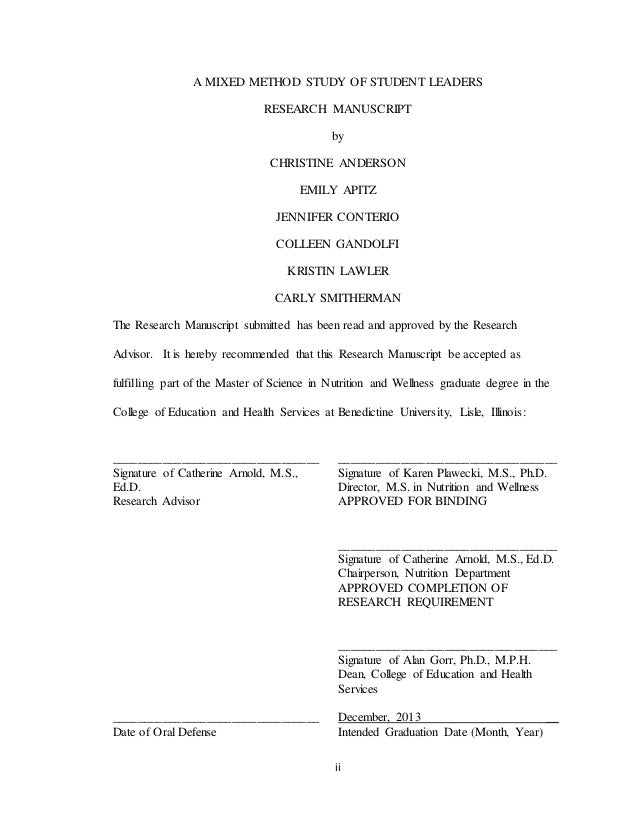 Phd thesis manuscript