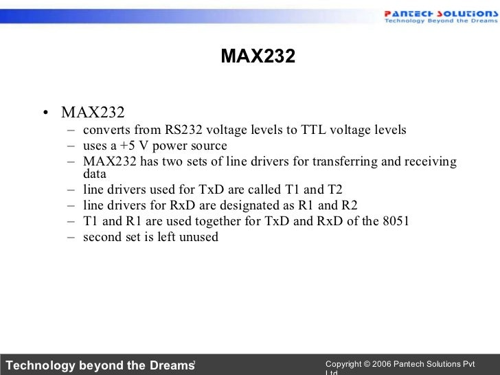 8051 serial communication-UART