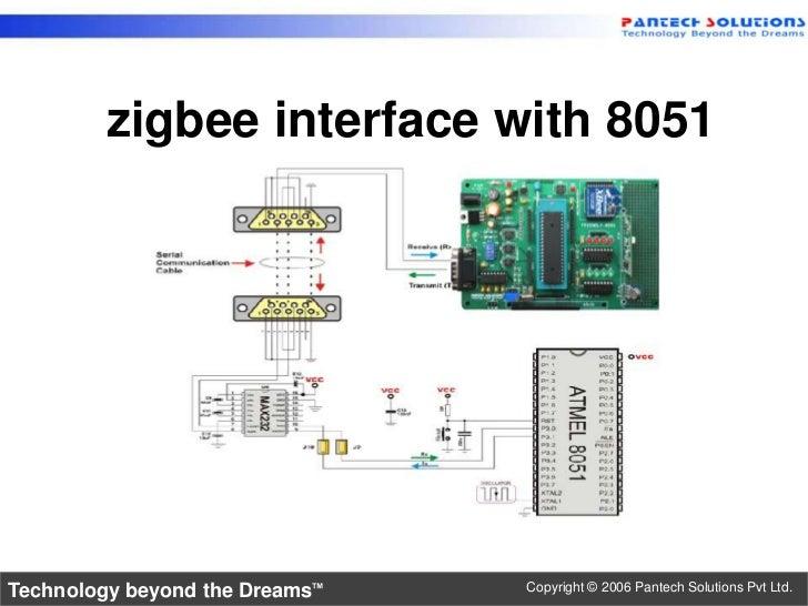 8051 zigbee interface rh slideshare net