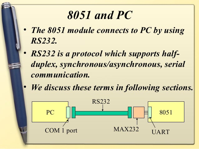 8051 microcontroller notes continuous  Slide 3