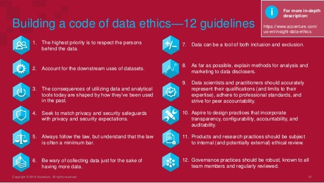 ethical code of data collection This code calls for honesty,  ethical issues for online surveys  and the method place and dates of data collection.