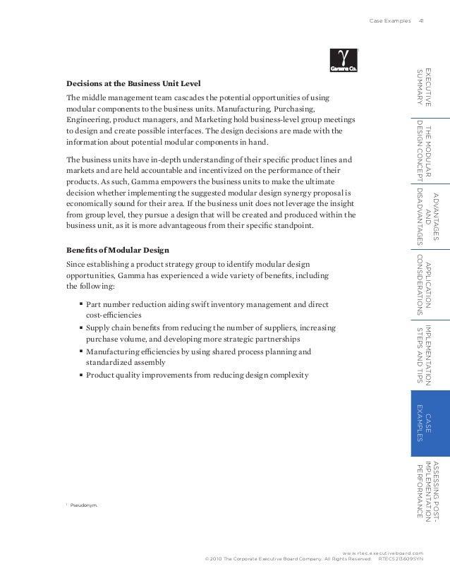 Modular Design Playbook
