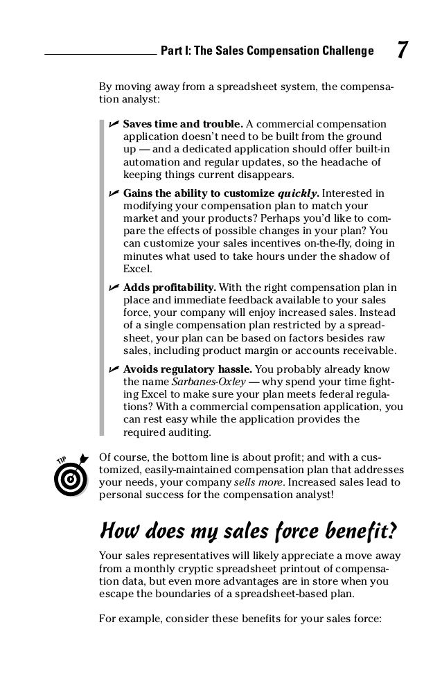 Xactly Sales Compensation for Dummies_02_05_2007