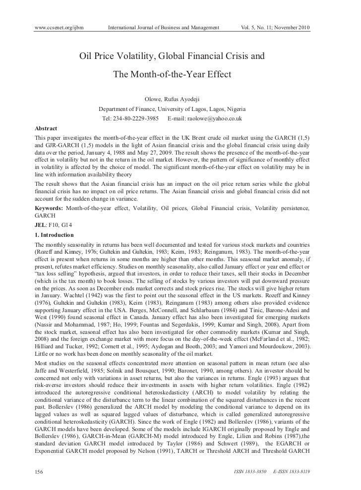 www.ccsenet.org/ijbm          International Journal of Business and Management         Vol. 5, No. 11; November 2010      ...