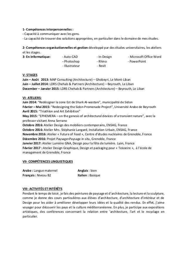 CV - TOHME, Mohamad Slide 2