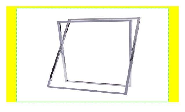 Cross 60x84x29 cm Chrom Esbada Handtuchst/änder//Handtuchhalter//Badehandtuchst/änder