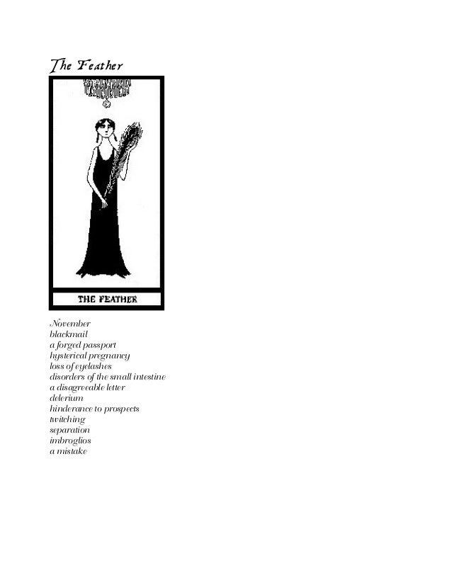 Edward Gorey - The-fantod-tarot-deck
