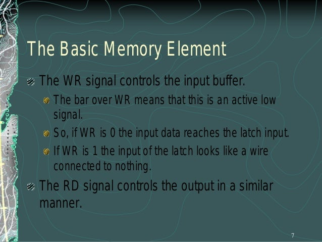 The Enable Inputs How do we produce these enable line? Since we can never have more than one of these enables active at th...