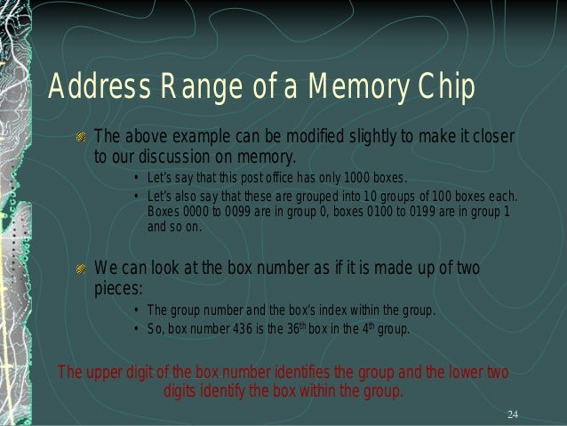 High-Order vs. Low-Order Address Lines The address lines from a microprocessor can be classified into two types: High-Orde...