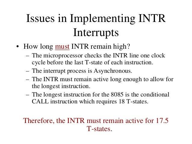 Multiple Interrupts and Priority Dev. 7  Dev. 6  Dev. 5  O7 O6 O5 O4 O3 O2 O1 O0  INTR Circuit INTA Circuit RST Circuit  7...