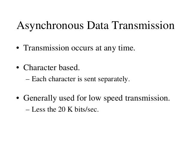 Error Checking • Various types of errors may occur during transmission. – To allow checking for these errors, additional i...