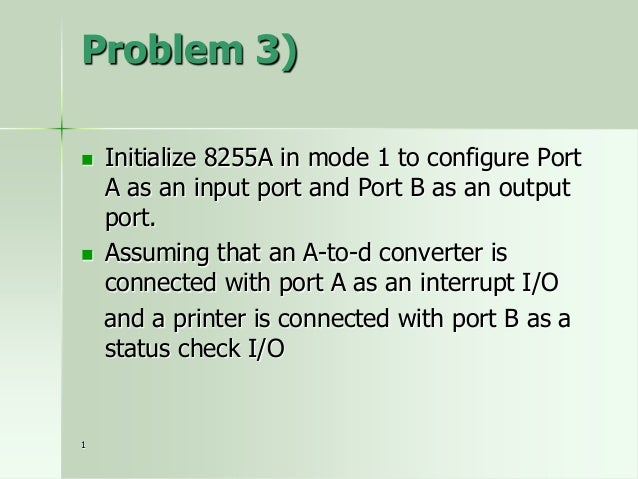 8086 Features • 16-bit Arithmetic Logic Unit • 16-bit data bus (8088 has 8-bit data bus) • 20-bit address bus - 220 = 1,04...