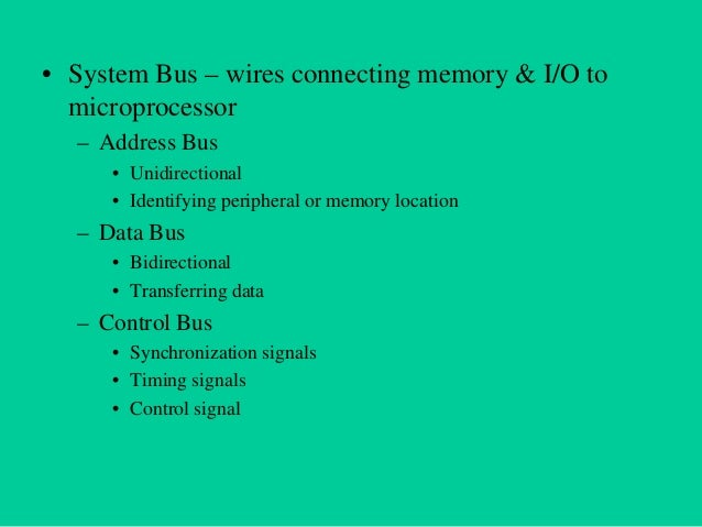 Intel 8085 Microprocessor • Microprocessor consists of: – – – – –  Control unit: control microprocessor operations. ALU: p...