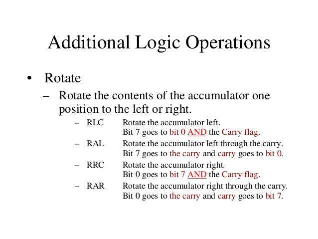 Branch Operations • Two types: – Unconditional branch. • Go to a new location no matter what.  – Conditional branch. • Go ...