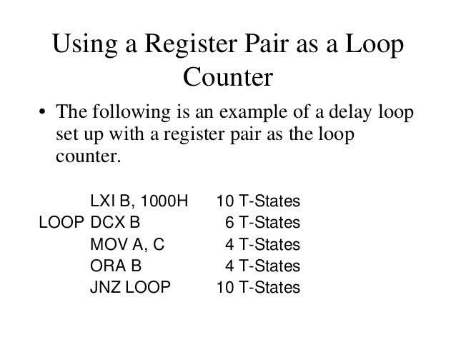 Delay Calculation of Nested Loops • The calculation remains the same except that it the formula must be applied recursivel...