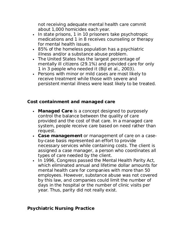 lecture notes in psychiatric nursing The bsc mental health nursing degree prepares you for a rewarding career  providing  by city and will receive regular visits by your link lecturer ( approximately once a week)  please note that all academic timetables are  subject to change.