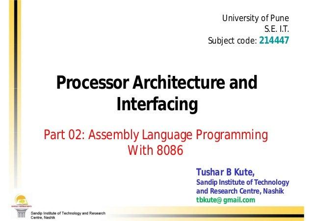 University of Pune                                           S.E. I.T.                            Subject code: 214447  Pr...