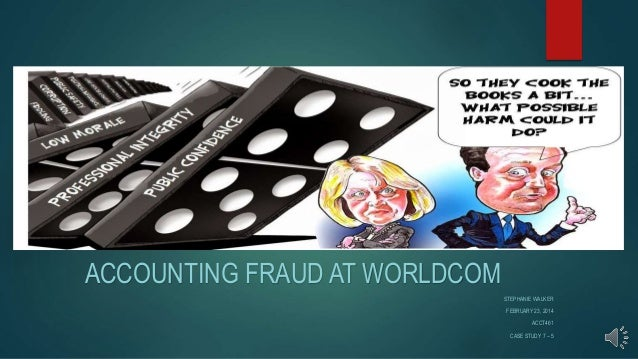 accounting fraud at worldcomm