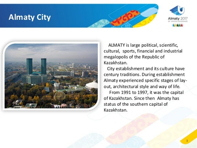 almaty city презентация на английском