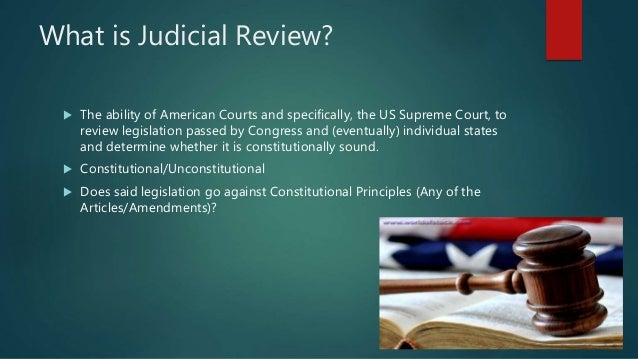Judicial review | law | Britannica.com