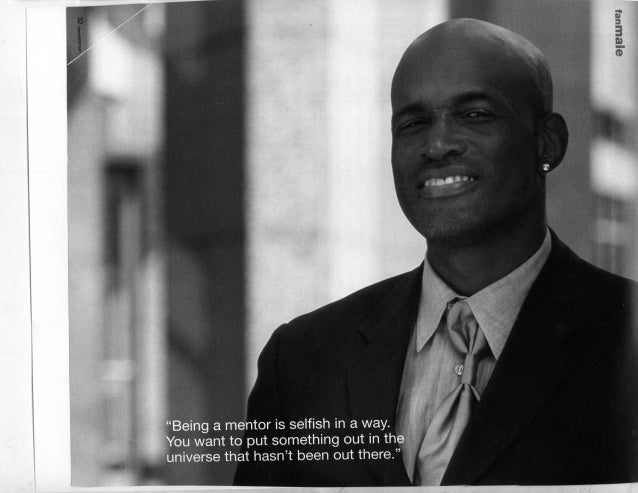 Men Who Mentor Women--Kenny Leon