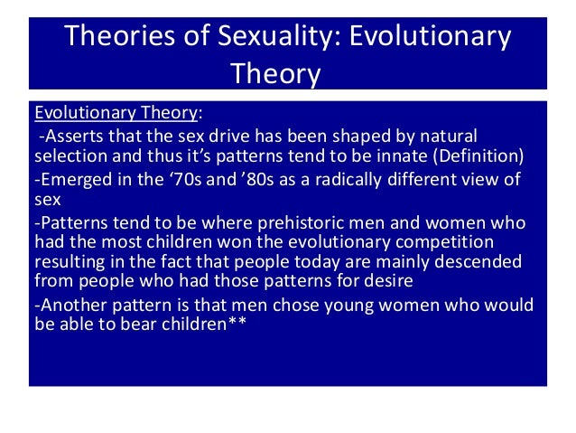 Definition of sexuality in psychology