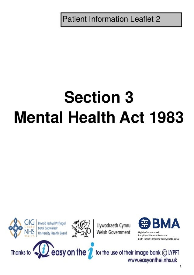 MHA Section 3 - Leaflet 2