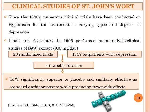 a comparison of the side effects of prozac and st johns wort St john's wort can produce the same adverse reactions as antidepressants, and serious side effects can occur when the two are taken together, according to new research in a study published this.