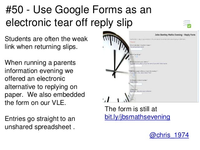 80 interesting ways to use google forms to support learning