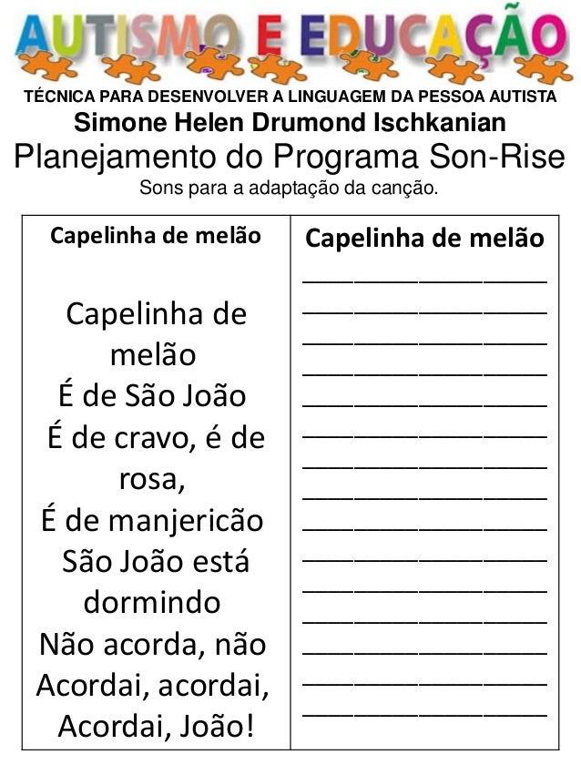 Top 80 planejamento de atividades para desenvolver a linguagem do autista SM93