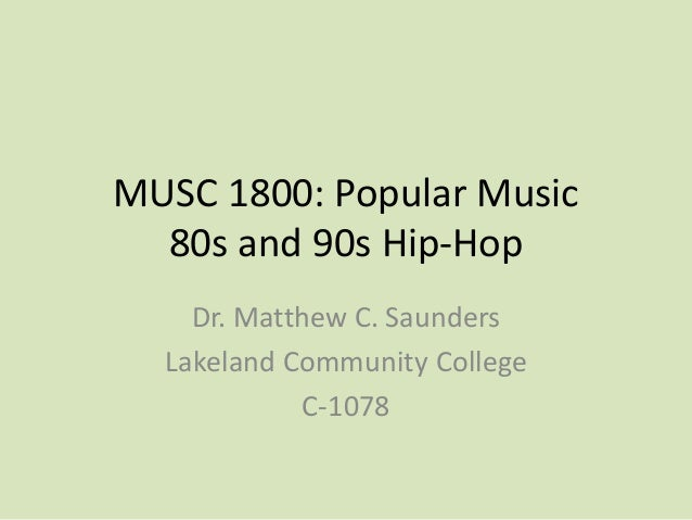 80s and 90s Hip-Hop
