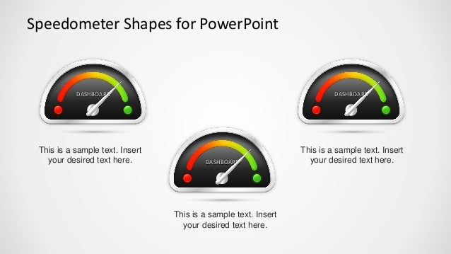 slidemodel - animated speedometer powerpoint template, Powerpoint templates