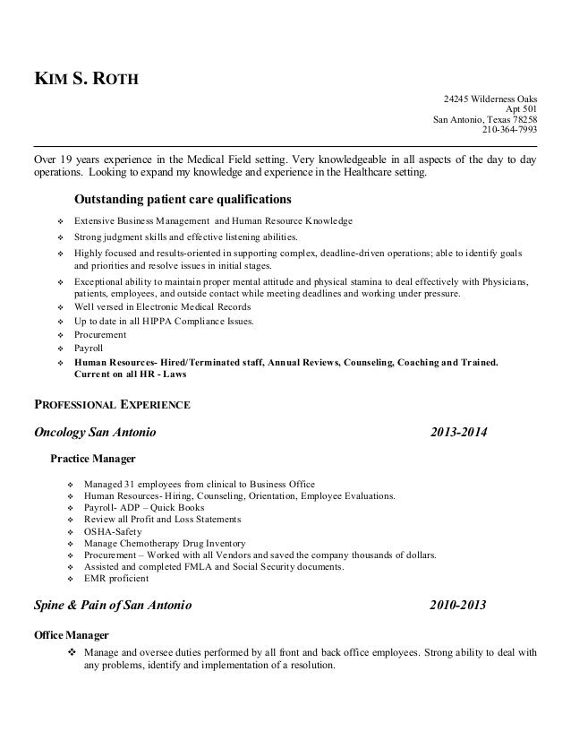 Current Resume 2015 Kim