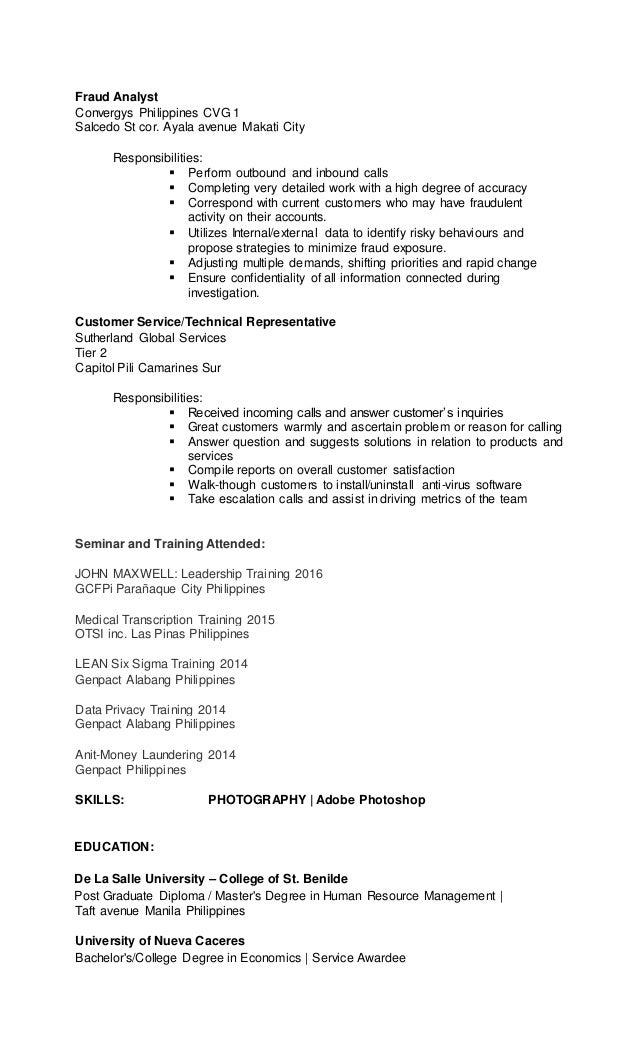 Fraud Analyst Cover Letter - sarahepps.com -