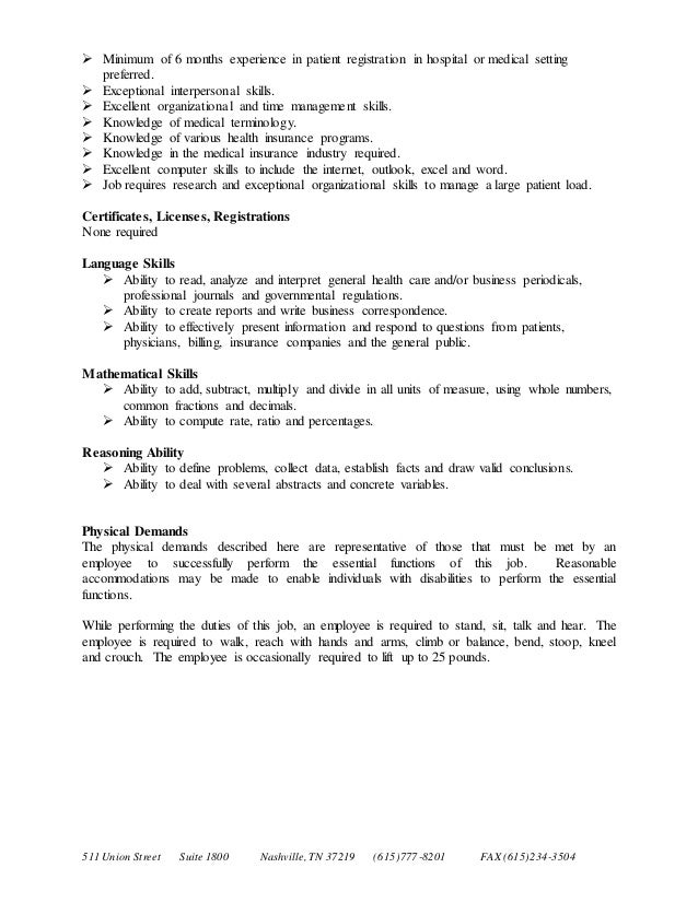 Referral Coordinator Job Description