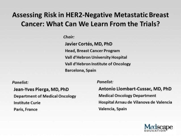 HER2 negative metastatic breast ca