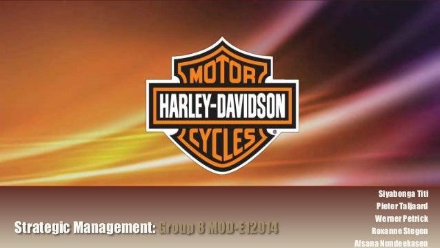 Harley davidson individual assignment