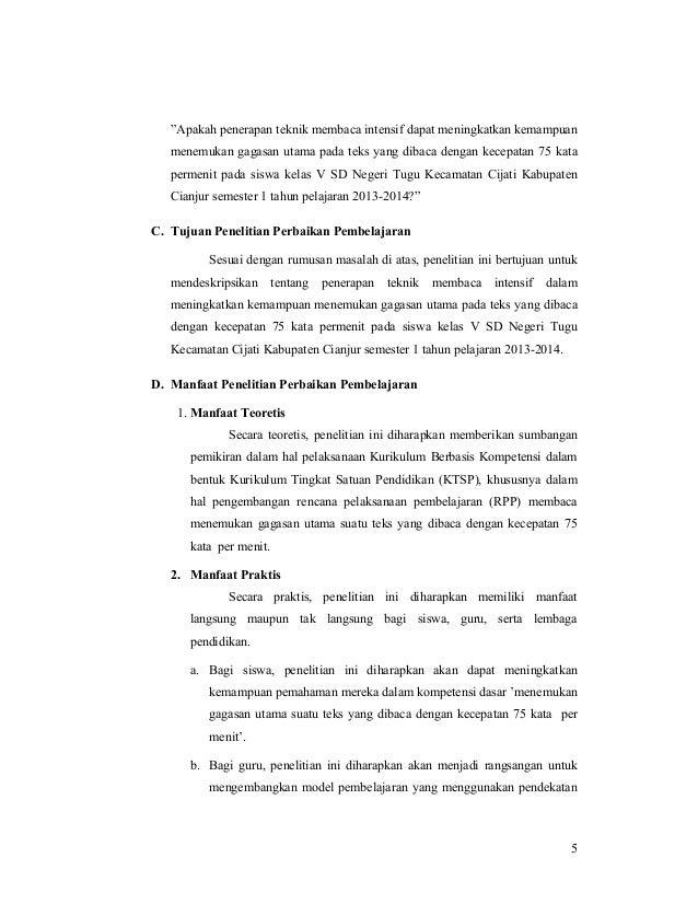 Efektivitas Penerapan Teknik Membaca Intensif dalam ...