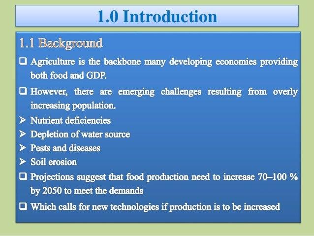 Senior seminar- Nanotechnology in Agriculture Slide 2