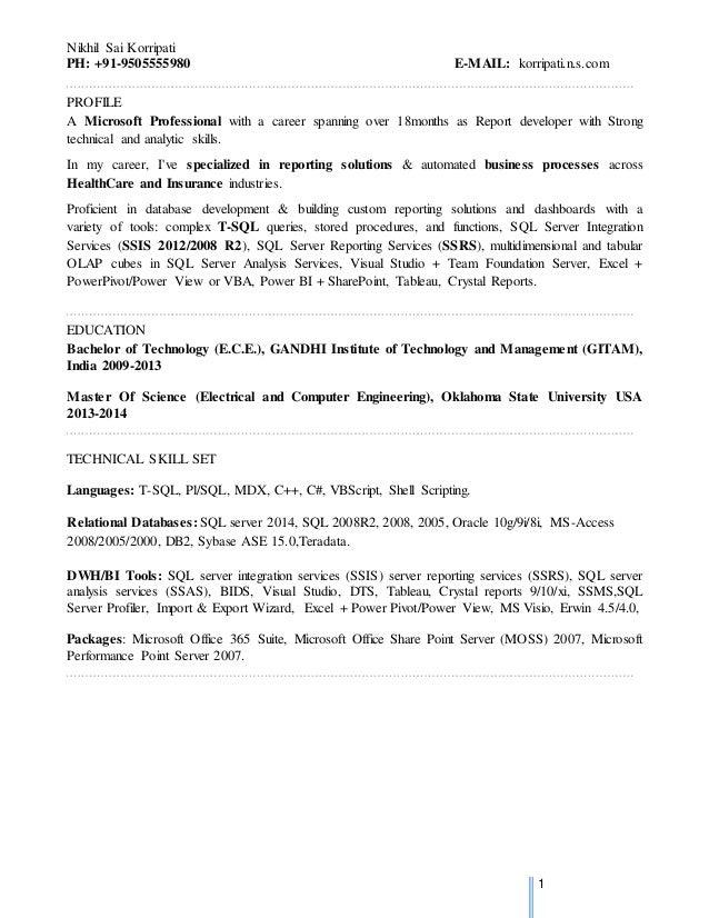 Nikhil_MSBI_updated