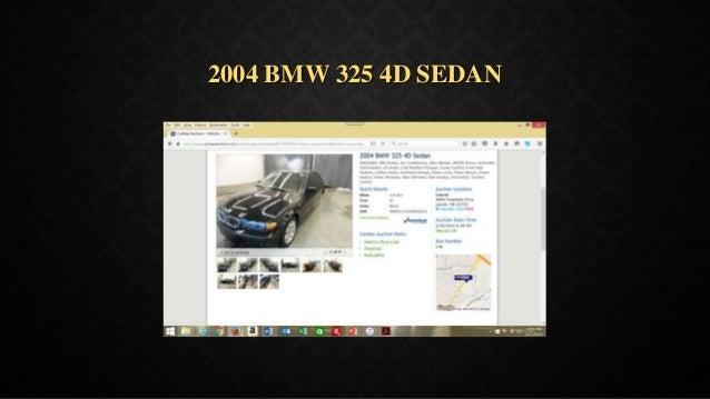 2004 BMW 325 4D SEDAN