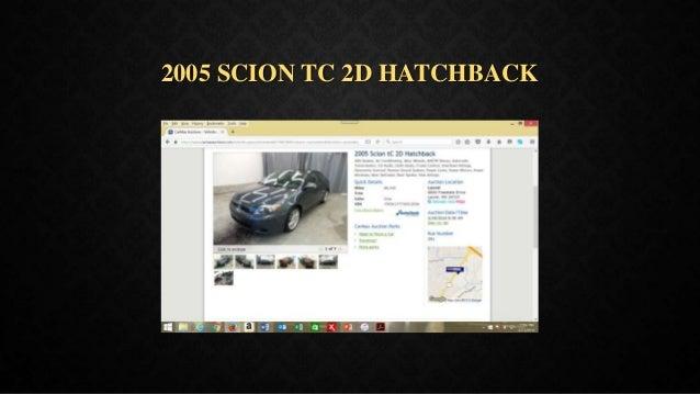 2005 SCION TC 2D HATCHBACK