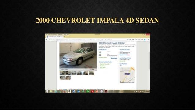 2000 CHEVROLET IMPALA 4D SEDAN