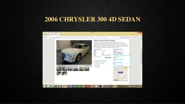 2006 CHRYSLER 300 4D SEDAN