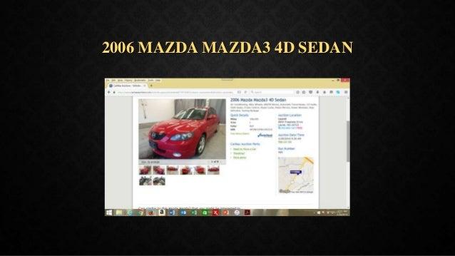 2006 MAZDA MAZDA3 4D SEDAN