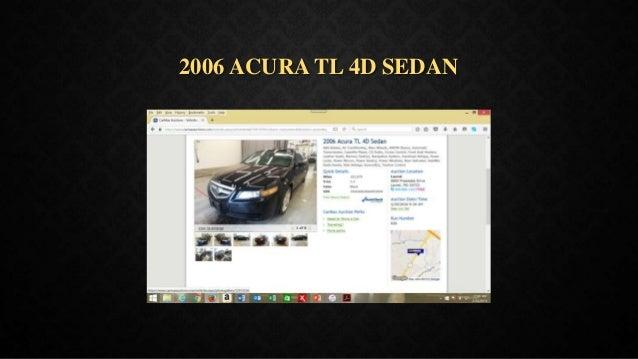 2006 ACURA TL 4D SEDAN
