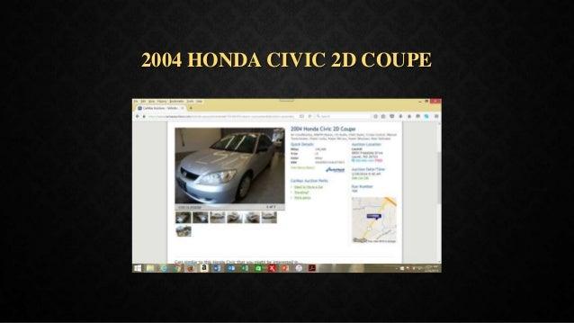 2004 HONDA CIVIC 2D COUPE